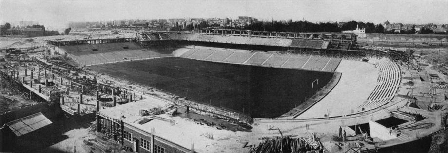 I fc 074 008 estadio santiago bernab u en madrid vista - Empresas de construccion en madrid ...